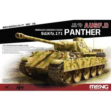 TS-038 Meng German Medium tank Sd.Kfz.171 Panther Ausf.D, 1/35