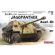 TS-039 Meng German Tank Destroyer Sd.Kfz.173 Jagdpanther, 1/35
