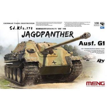 TS-039 Meng German Tank Destroyer Sd.Kfz.173 Jagdpanther, 1/35
