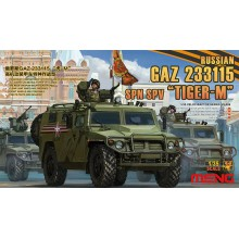 VS-008 MENG RUSSIAN GAZ 233115 TIGER-M SPN SPV, 1/35