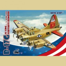 mPLANE-001 MENG B-17G FLYING FORTRESS BOMBER, MENG KIDS