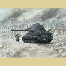 WWT-003 MENG GERMAN HEAVY TANK KING TIGER