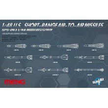 SPS-043 MENG U.S. Short-Range Air-to-Air Missiles, 1/48