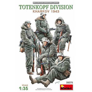 35075 MiniArt фигуры Totenkopf Division Kharkov 1943, 1/35