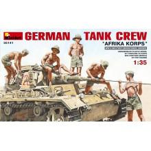 35141 MiniArt НЕМЕЦКИЙ ТАНКОВЫЙ ЭКИПАЖ Afrika Korps, 1/35