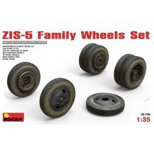 35196 MiniArt Семейство колес для ЗИС-5, 1/35