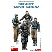 35254 MiniArt Советский танковый экипаж (Soviet tank crew), 1/35
