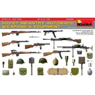 35268 MiniArt Советское автоматическое оружие и экипировка, 1/35