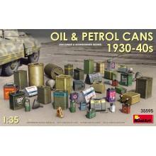 35595 MiniArt Канистры для Масла и Горючего 1930-40г., 1/35