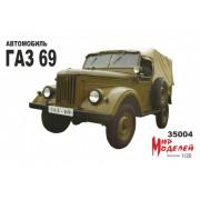 35004 Мир моделей ГАЗ-69 М, 1/35