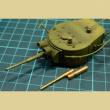 С35003 Мир Моделей 45-мм ствол танковой пушки, 1/35