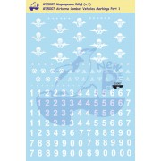 35007 New Penguin Маркировка бронетехники ВДВ ч.1, 1/35