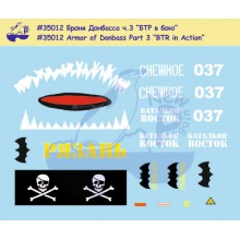35012 New Penguin Броня Донбасса ч.3 БТР в бою, 1/35