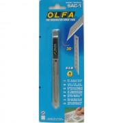 OL-SAC-1 OLFA Нож для графических работ, корпус из нержавеющей стали, 9мм.