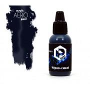 0012 Pacific88 AERO Чёрно-синий (Black-blue), 18 мл