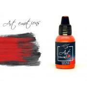 ART121 Pacific88 ART COLOR Красный средний (red medium), 18 мл