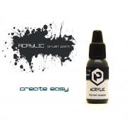 F02 Pacific88 Краска Черный графит (Graphite black) акриловая, Acrylic, 10мл
