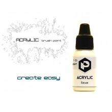 F06 Pacific88 Краска Белая (White) акриловая, Acrylic, 10мл