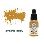 F136 Pacific88 Краска Телесная нежная загар (Bodily gentle tan) акриловая, Acrylic, 10мл