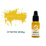 F147 Pacific88 Краска Медово-желтый (Honey yellow) акриловая, Acrylic, 10мл