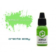 F172 Pacific88 Краска Лаймово-зеленый (lime green) акриловая, Acrylic, 10мл