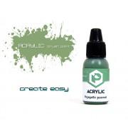 F175 Pacific88 Краска Резедово-зелёный (Gum green) акриловая, Acrylic, 10мл
