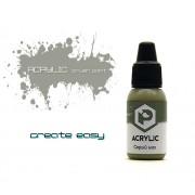 F72 Pacific88 Краска Серый мох (Grey moss) акриловая, Acrylic, 10мл
