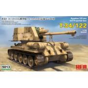 RM-5013 RFM Egyptian 122 mm self-propelled gun T-34/122, 1/35