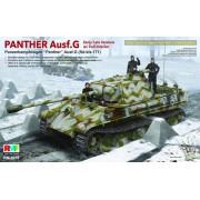 RM-5016 RFM Panter Ausf.G Sd.kfz.171 early/late ver. Full interior, 1/35