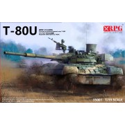 35001 RPG-model T-80U Main Battle Tank, 1/35