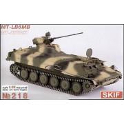 218 SKIF MT-LB6MB Soviet armored troop-carrier, 1/35