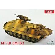 219 SKIF MT-LB 6M1B3 Soviet armored prime-mover, 1/35