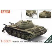 224 SKIF T-55C1 Бублина С минным тралом КМТ-6, 1/35