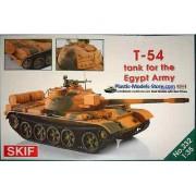 232 SKIF T-54 Egyptian Army tank, 1/35