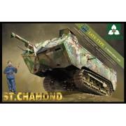 2012 TAKOM French Heavy Tank St.Chamond, 1/35