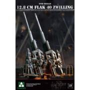 2023 TAKOM German 12,8 cm FLAK 40 Zwilling WWII, 1/35
