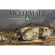 2033 TAKOM WWI Heavy Battle Tank Mk.I Female with Anti-grenade, 1/35