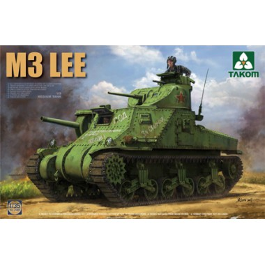 2115 TAKOM US MEDIUM TANK M3A1 LEE CDL, 1/35