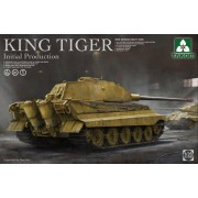 2096 TAKOM GERMAN HEAVY TANK WWII KING TIGER Inintial production, 1/35