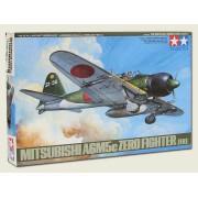61027 Tamiya A6M5с TYPE 52 ZERO FIGHTER (ZEKE) 7 фигур., 1/48