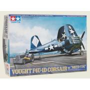 61085 Tamiya Vought F4U-1D Corsair w/moto-tug, 1/48
