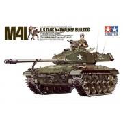 35055 Tamiya Американский танк M41 Walker Bulldog (1 фигура командира и 2-мя фигурами солдат), 1/35