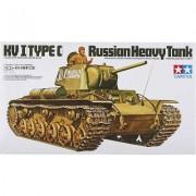 35066 Tamiya Советский тяжелый танк КВ-1, с одной фигурой танкиста, 1/35