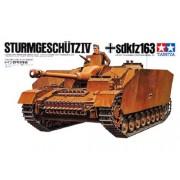 35087 Tamiya STURMGESCHUTZ IV sd.kfz,163, 1 фигура, 1/35