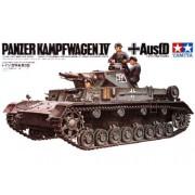 35096 Tamiya Танк Pz.kpfw. IV Ausf.D с 3 фиг. танкистов, 1/35