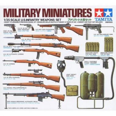 35121 Tamiya U.S. Infantry Weapons, 1/35