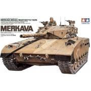 35127 Tamiya Израильский танк Merkava с 105-мм пушкой и 1 фигурой танкиста, 1/35