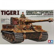 35146 Tamiya Танк TIGER I Late Version, 1/35