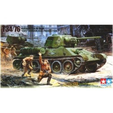 35149 Tamiya Танк Т34/76 ЧТЗ, 1/35