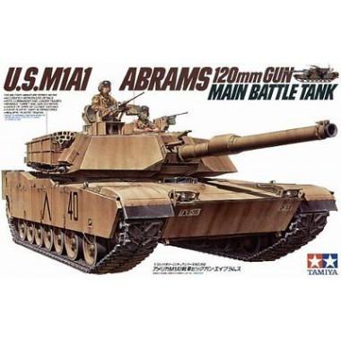 35156 Tamiya Танк M1A1 Abrams, 1/35